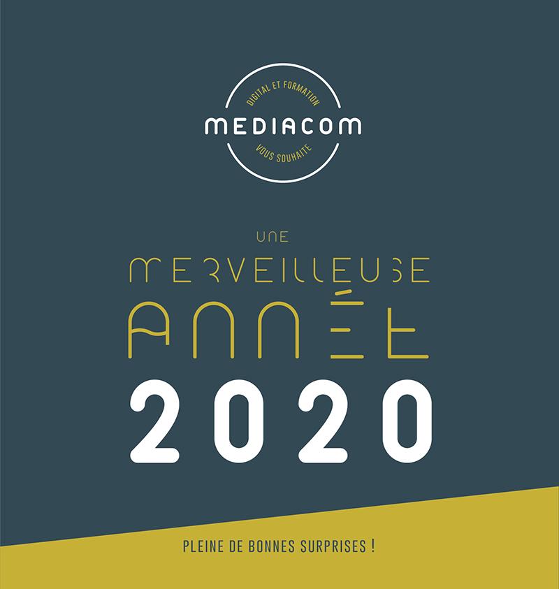 mediacom studio voeux 2020