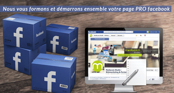solution creation et formation page facebook pro