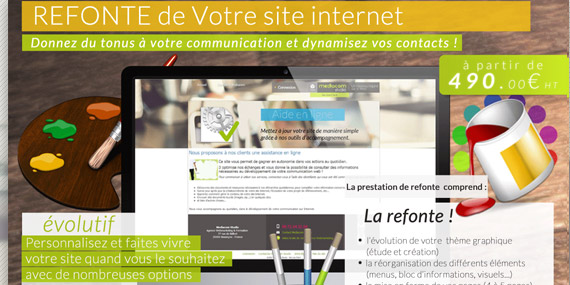 solution refonte site internet pro