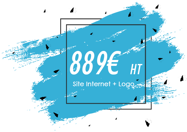 creation site internet une page et logo
